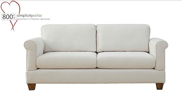 Eight Hundred Sq Ft Loves Simplicity Sofas Custom Built