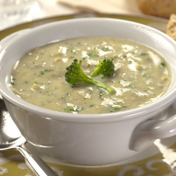 Cream of Broccoli Soup | Food | Pinterest