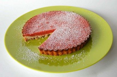 Strawberry Lemonade Tart | Sweets | Pinterest