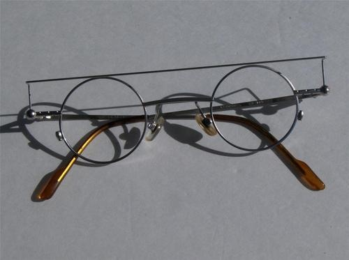 Glasses Frames In An Hour : Vintage koure 8080 small round lens steampunk eyeglasses ...