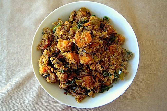 Quinoa Sweet Potato Salad   Salads, Veggies, and Sides   Pinterest