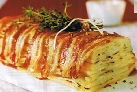 Potato And Bacon Cake Recipe — Dishmaps