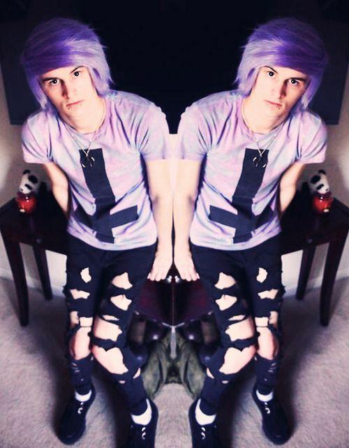 Boy pastel goth Boys Pinterest - Goth Hairstyles For Guys