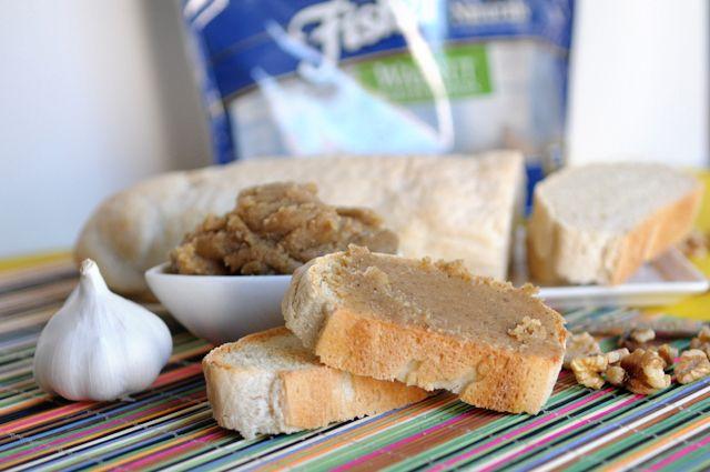 Roasted Garlic Walnut Butter   Savoury   Pinterest