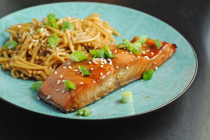 Teriyaki Salmon | Fish | Pinterest