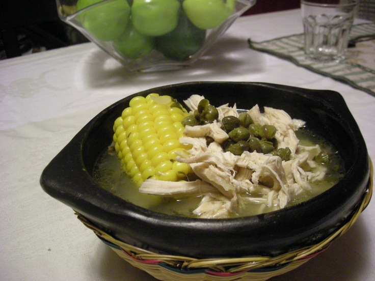 Ajiaco Colombiano (Colombian chicken and potato soup) link for recipe ...