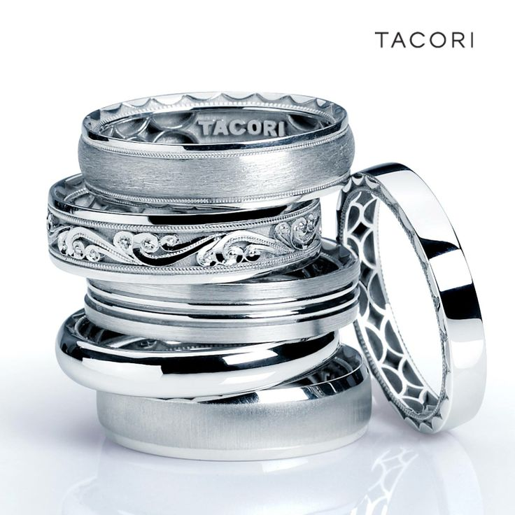 Bands Masculine, Classy, Distinct Explore Tacori options at Miami ...