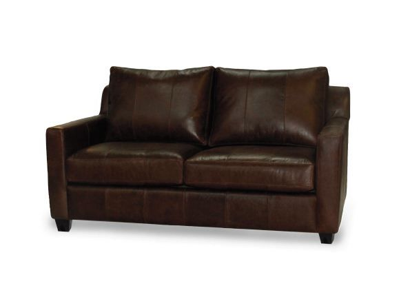 Leather couch by Hart Miller Furniture