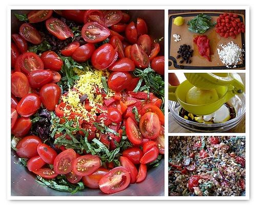 greek wheat berry salad | salads, slaws & dressings | Pinterest