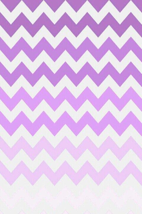 Purple Ombre Chevron Wallpaper Backgrounds Pinterest