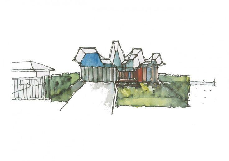 Modern Beach House in Western Australia by Iredale Pedersen Hook Architects
