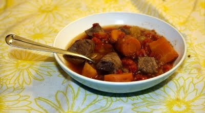 Slow Cooker Beef and Veggie Stew | Slow cooker recipes | Pinterest
