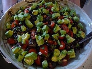 Quinoa, black bean, avocado loaded bowl-healthy and delicious!