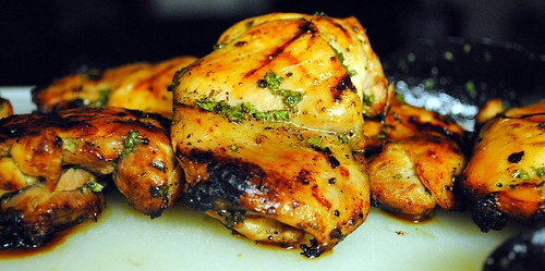 Honey Mint Glazed Chicken | Recipes that look delish | Pinterest