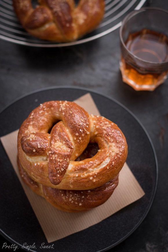 Homemade Soft Pretzels | Food! Yummo! | Pinterest