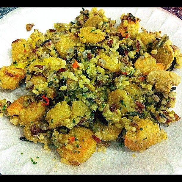 Shrimp Quinoa Mix   FoodPorn   Pinterest