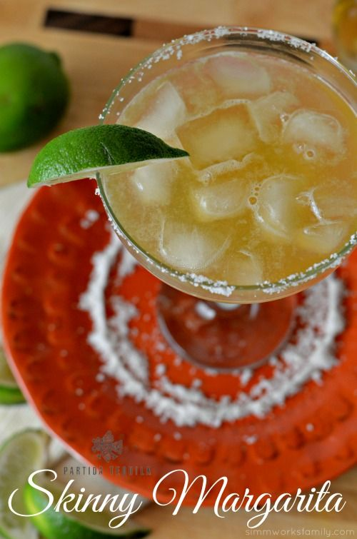 The perfect skinny margarita recipe - cool down on a hot day by the ...