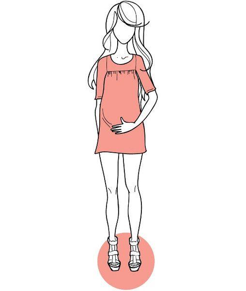 Rie dress amp top sewing pattern non maternity amp maternity