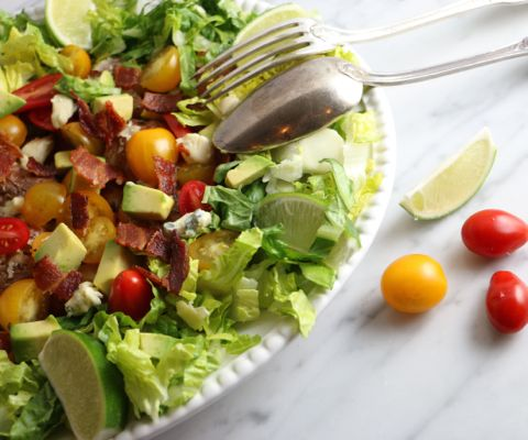 BLT smashed potato salad | Recipe