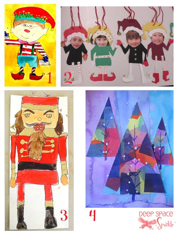 Christmas craft and art projects classroom fun pinterest