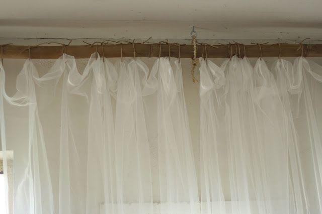Creative Way to Hang Curtains, and MORE Barn Photos