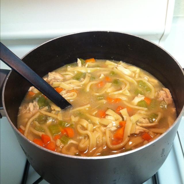 Homemade Turkey Noodle Soup | recipes | Pinterest