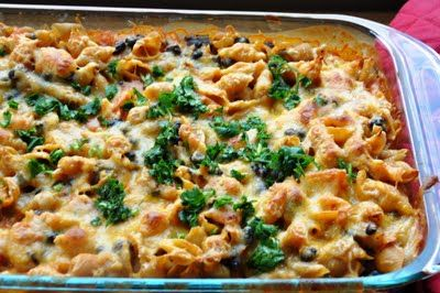 Mexican Black Beans & Cheese Pasta... Oh Yeah! | Honey, What's Cookin...