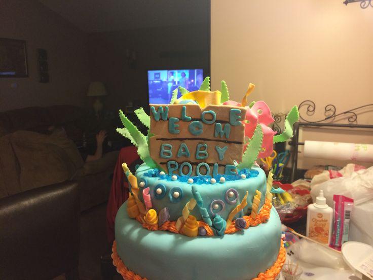 finding nemo baby shower cake babys pinterest
