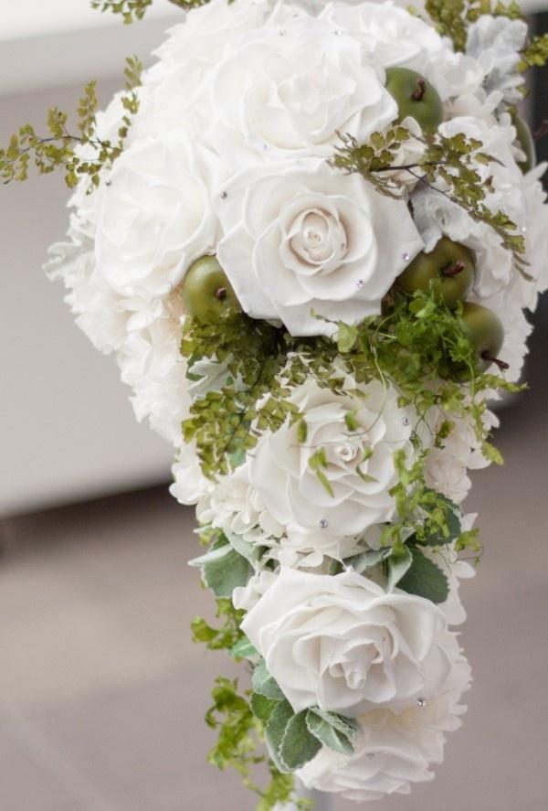 Wedding bouquet preserved flower vegas peacock nouveau wedding pi