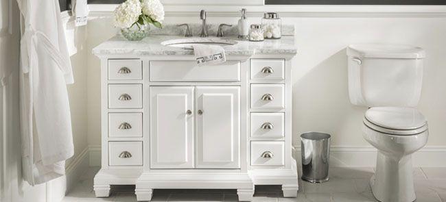 Install A New Bathroom Vanity Top Bathrooms Pinterest