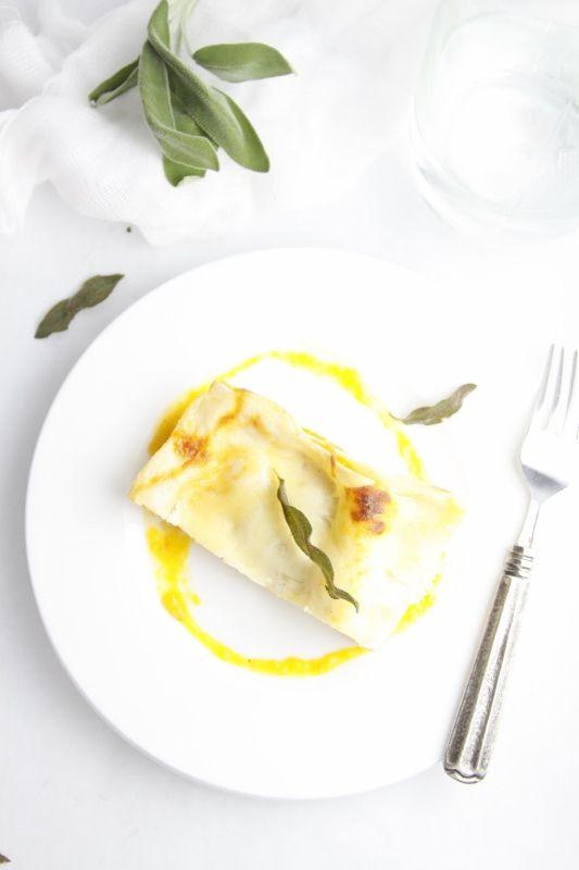 Roasted Butternut Squash Lasagna | Recipe
