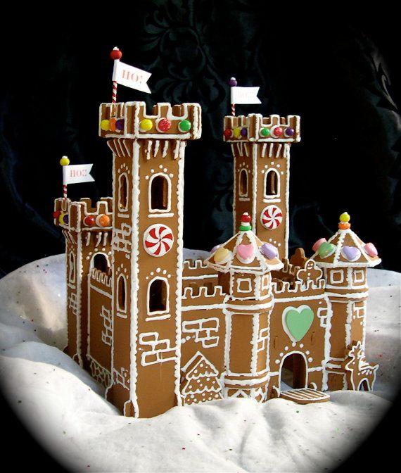 Gingerbread Princess Castle Gingerbread castle!