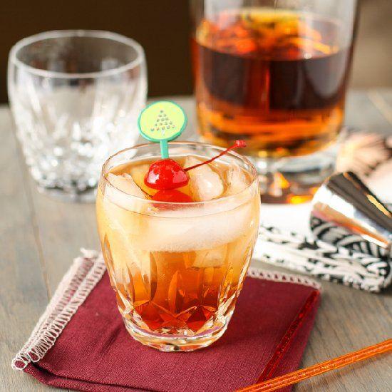 The Perfect Manhattan Cocktail. Best Recipes via www.imgrecipes.com