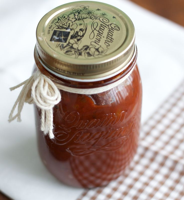 Homemade BBQ sauce « | Mason jars | Pinterest