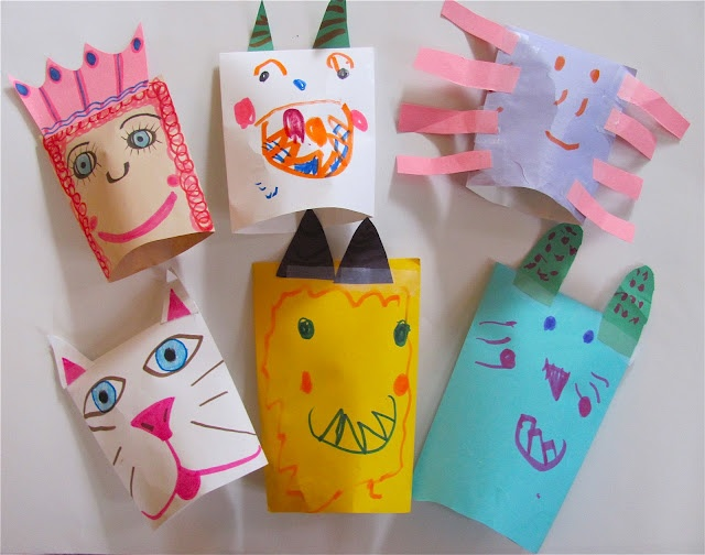 Envelope Puppets