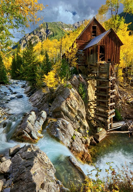 Crystal mill fall vertical go scenic colorado pinterest for Crystal fall