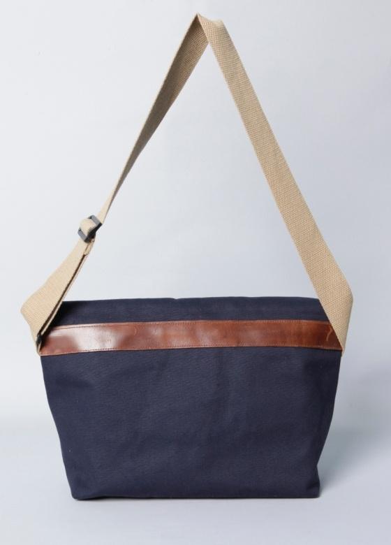 Corlear Waxed Canvas Unisex Messenger Bag