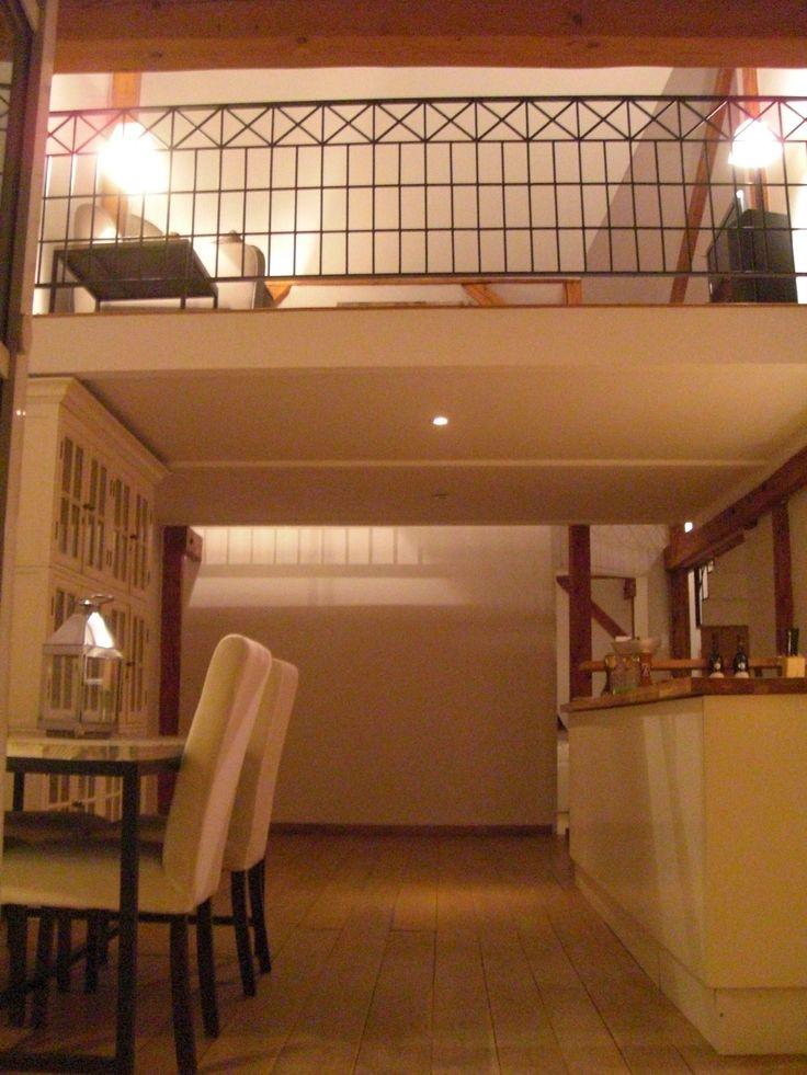 küche und wohnzimmer zusammen : Wohnzimmer, Küche und Galerie ...