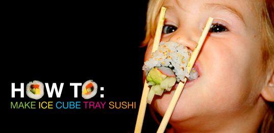 sushi sushi cut handrolls sushi salad sushi cake ice tray sushi blocks ...