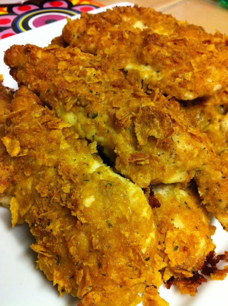 Breaded Parmesan Ranch Chicken :)   Food   Pinterest