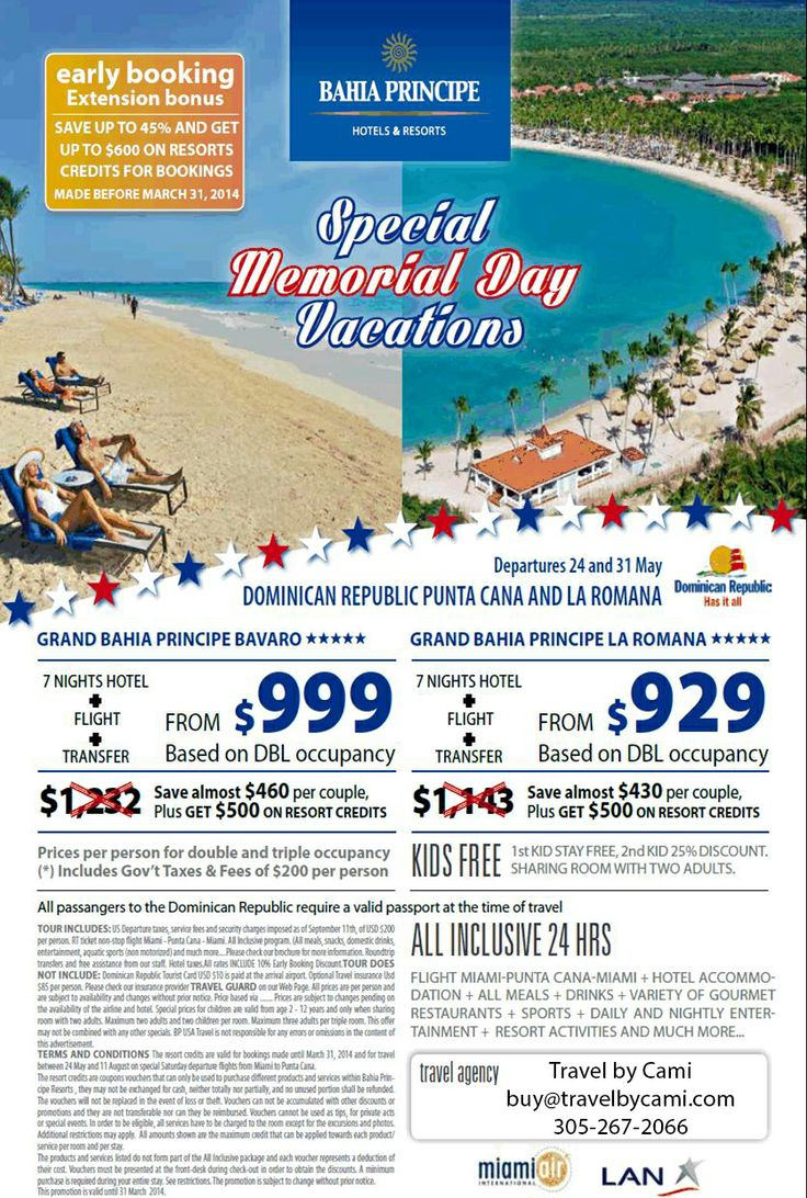 travel deals for memorial day weekend 2015