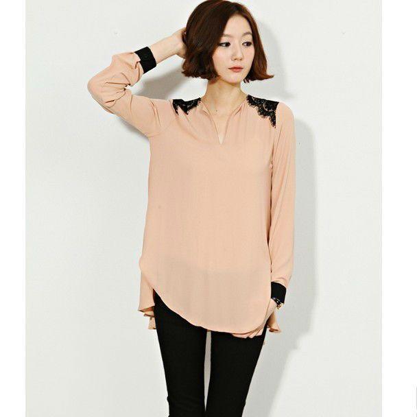 blusas para damas elegantes modelos de blusas en chifon - spanish.alibaba.com