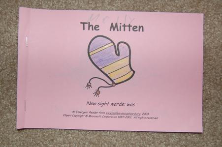 The mitten printable book   Winter and Polar region themes   Pinterest