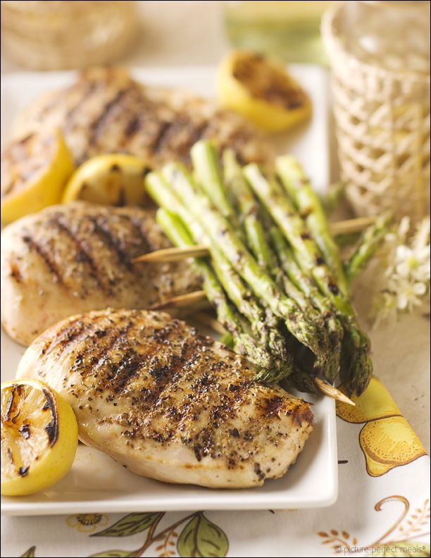 Grilled Tuscan Chicken with Lemon and Oregano