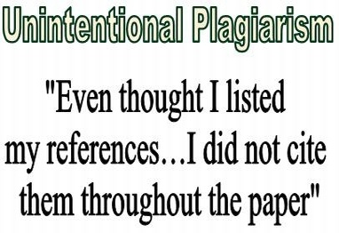 research paper plagiarism disclaimer