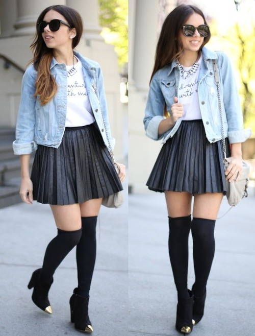 knee high socks my clothes obsession pinterest