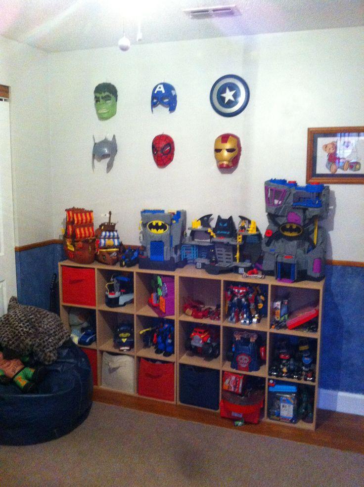 Avengers And Batman Bedroom Boys Room Pinterest