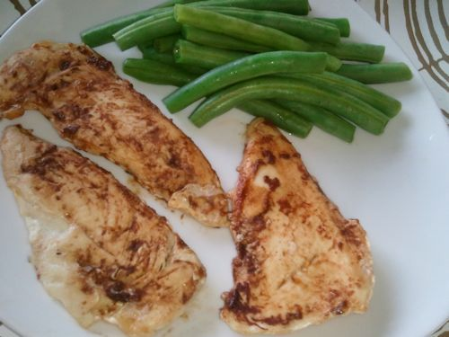 Honey Mustard Grilled Chicken - Dinner #grilling #oamc #freezercooking
