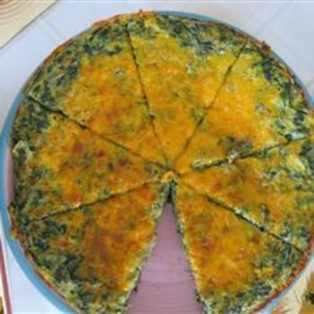 Spinach and Potato Frittata | recipes | Pinterest