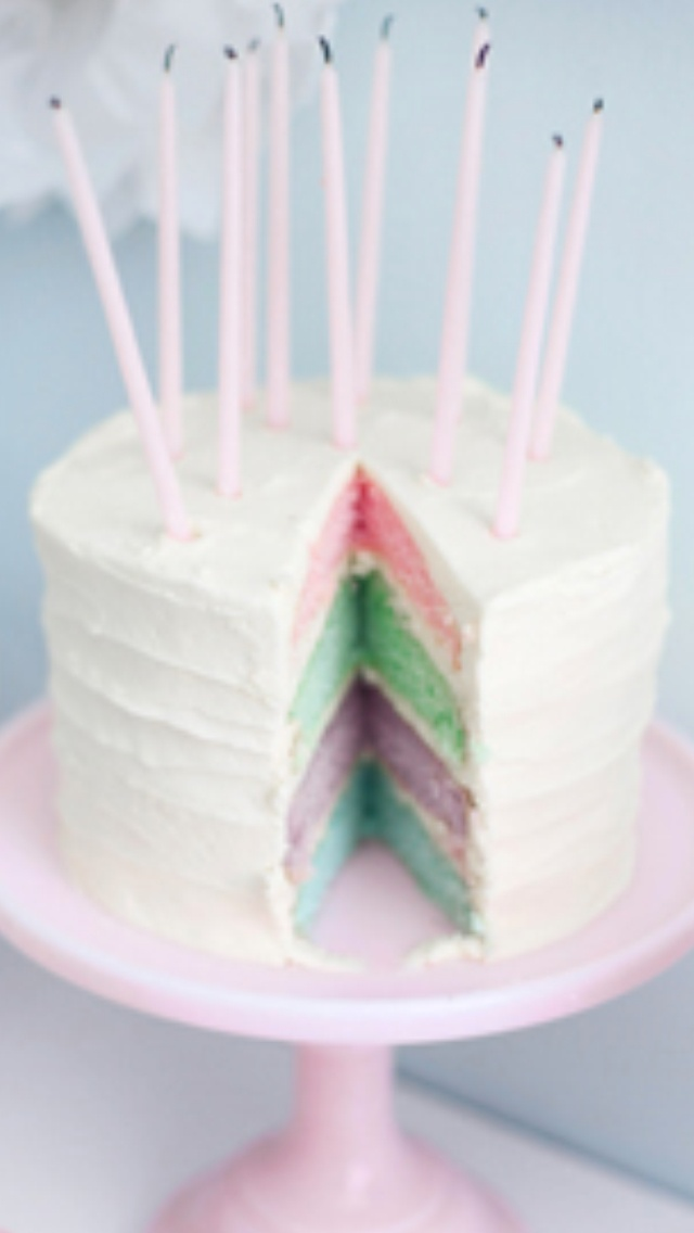 Pastel layer cake | Layer cakes | Pinterest